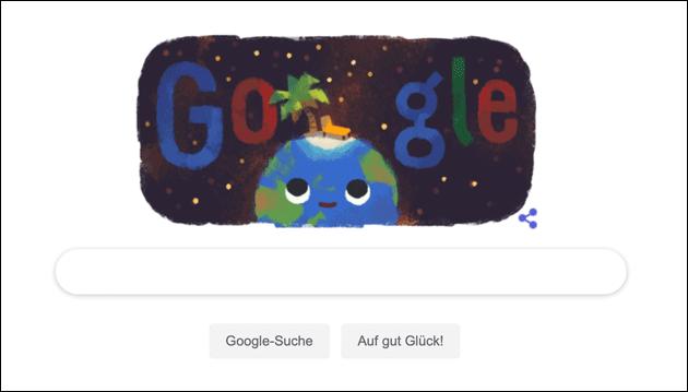 Google Doodle zum Sommeranfang 2019