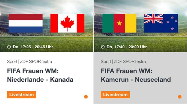 Fussball WM 2019: Niederlande gegen Kanada