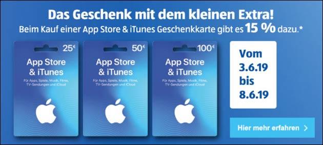 iTunes Extra Guthaben