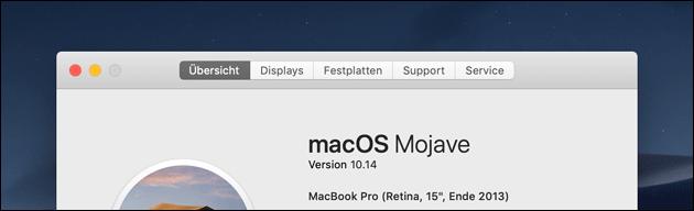 MacBook Modell