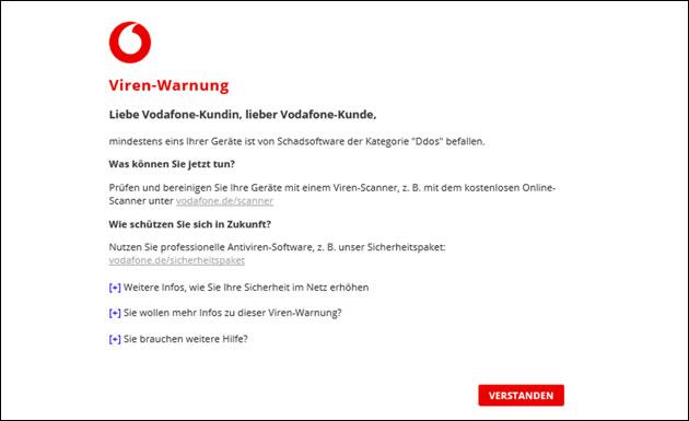 Vodafone Ddos Warnung