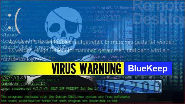 Bluekeep Sicherheitslücke