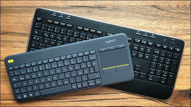 Logitech Funk-Tastatur