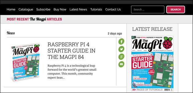MagPi 84 Download