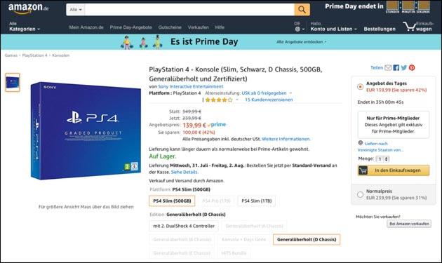 Playstation 4 Angebot