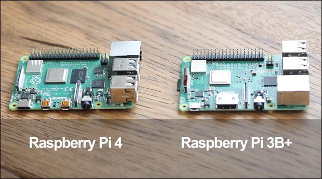 Raspberry Pi 4 Vergleich