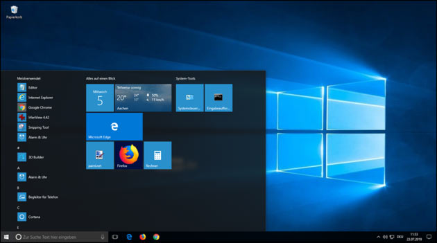 Windows 10 Upgrade kostenlos