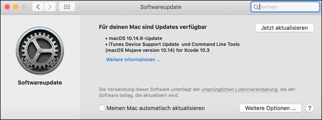macOS 10.14.6 Update
