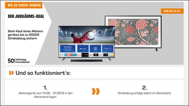 Samsung TV Angebot