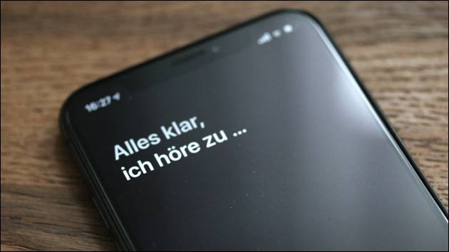 Siri: Apple stoppt Stimmenauswertung