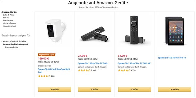 Amazon Angebote