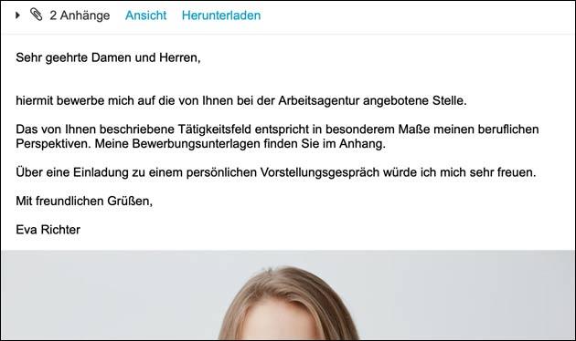 Bewerbung Eva Richter