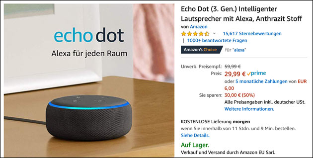 Echo Dot Angebot