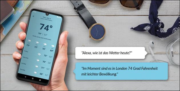 Motorola One Zoom mit Alexa