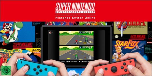 Nintendo Switch Online: SNES Klassiker