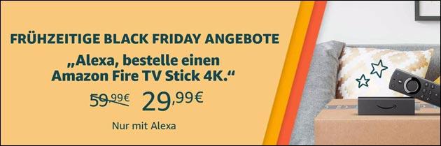 Frühzeitige Black Friday Angebote bei Amazon