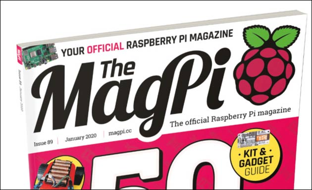 MagPi 89: Januar Ausgabe Raspberry Pi Magazin