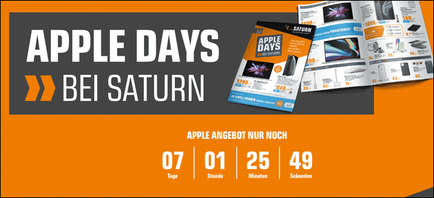 Apple Days Angebote