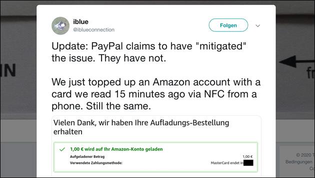 PayPal Sicherheitslücke