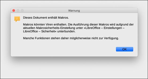 OpenOffice Test